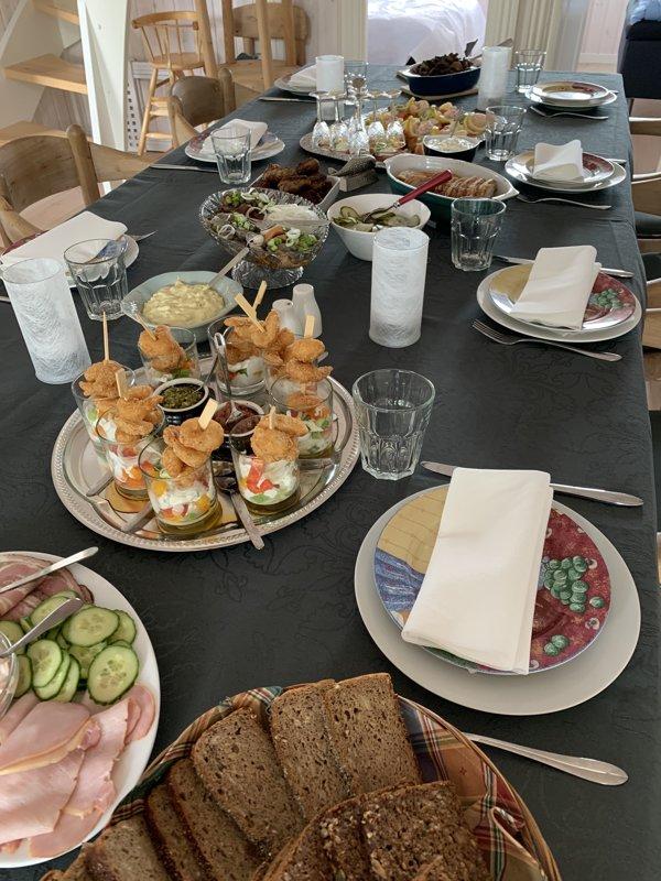 Frokostbuffet 1.
