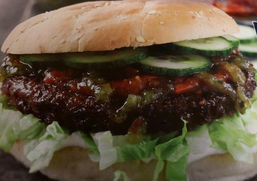 Gourmetburger og pandekage