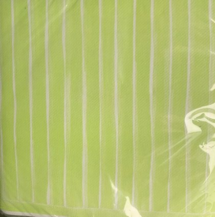 40 x 40 Bon bon lime tekstil serviet .