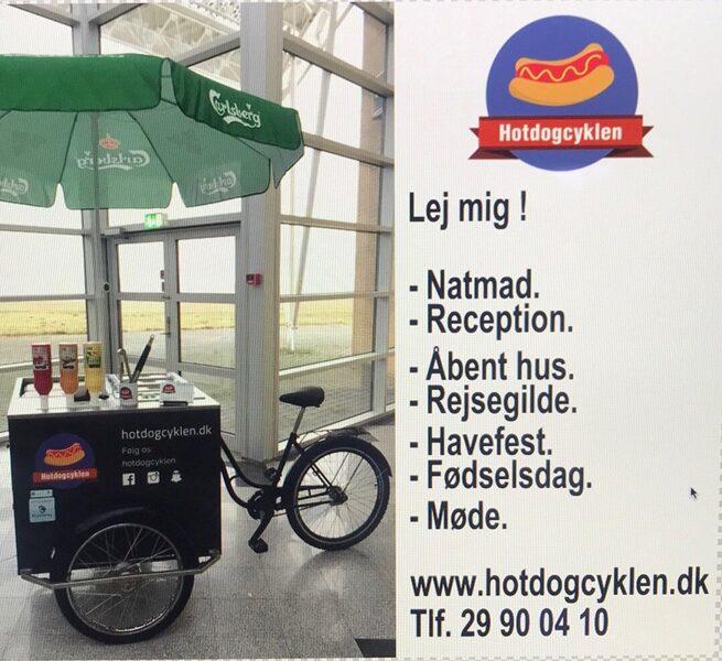 Hotdogcyklen fra 20 personer