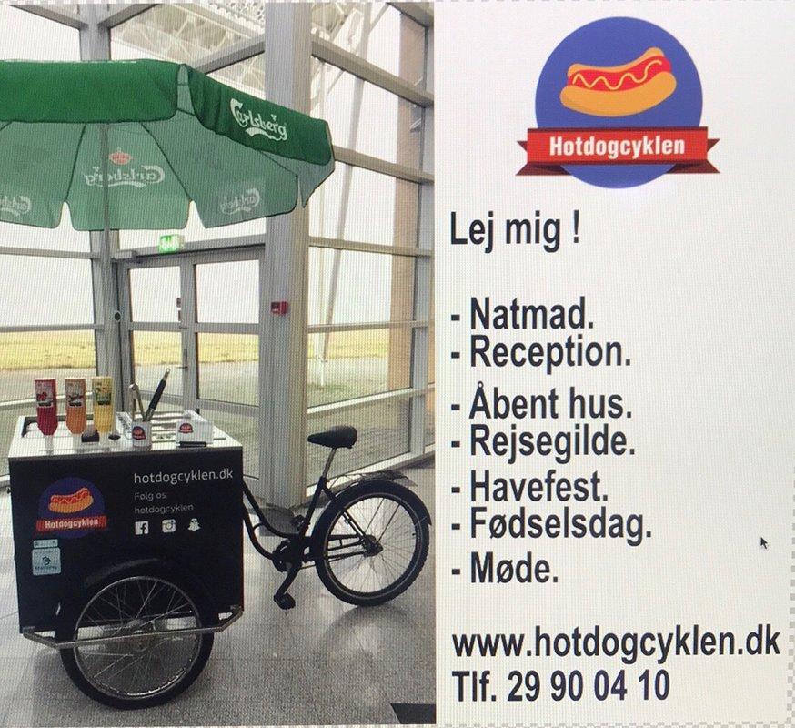Tilbud 4. Hotdogcyklen Natmad.